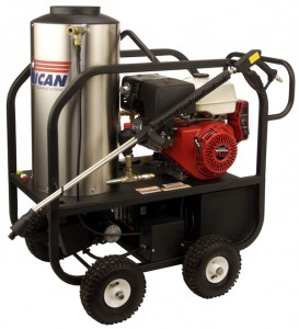 Gas Engine Heated Pressure Washer